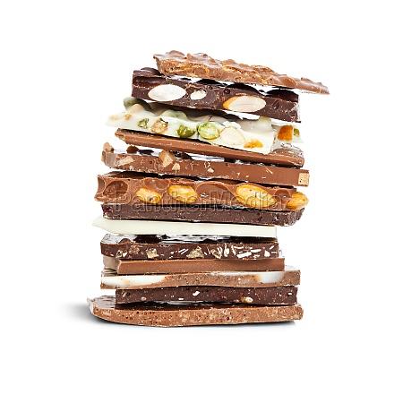 schokolade mischen
