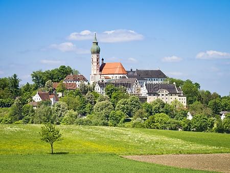 andechs monastery i bayern
