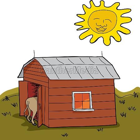 dry rural scene