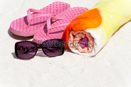 accessories for the beach holiday