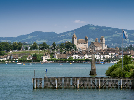 city of rapperswil in switzerland