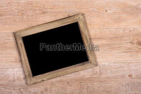 blackboard wooden