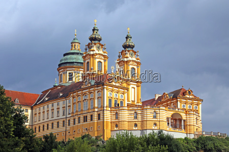 view from the danube on benedictine
