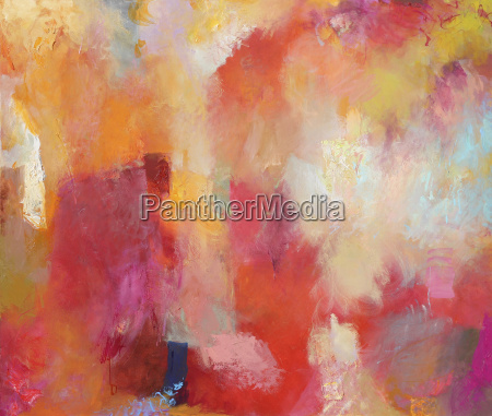 painting mixed media colorful