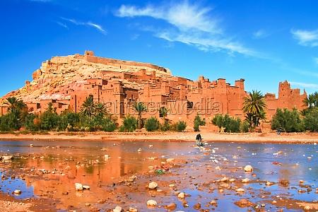 antike stadt ait benhaddou in marokko