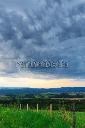 rain in the provence