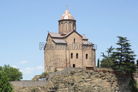 metekhi church tbilisi georgia