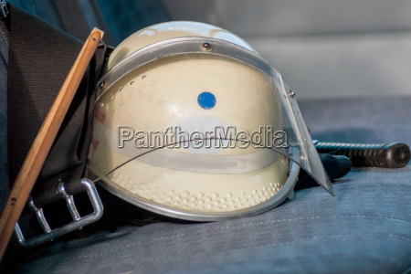 fire helmet on car seat