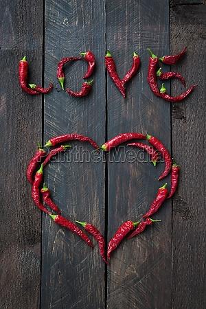 roter chili liebe