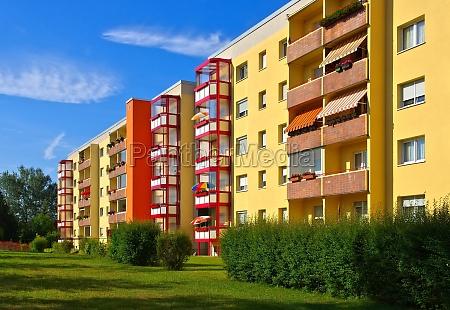 grossraeschen wohngebiet grossraeschen apartment blocks