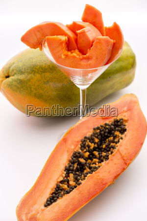 papaya a popular breakfast fruit