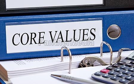 core values u200bu200b blau bindemittel im