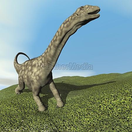 tier digital dinosaurier vorgeschichtlich praehistorisch spaet