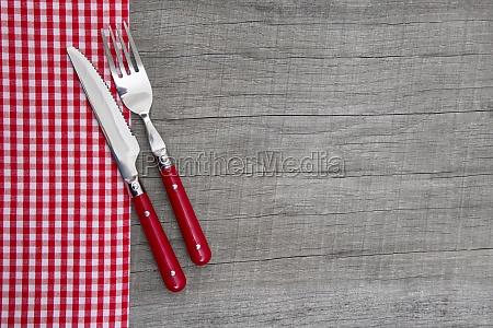 cuchillo y tenedor decoracion de