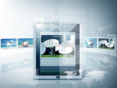 tablet pc mit video player app