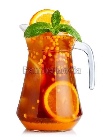 glas becher trinkgefaess kelch tasse orange