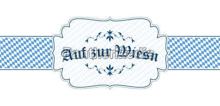 oktoberfest banner with text