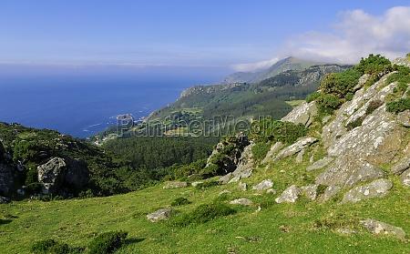 spanien galizien galicien landschaftsbild landschaft natur
