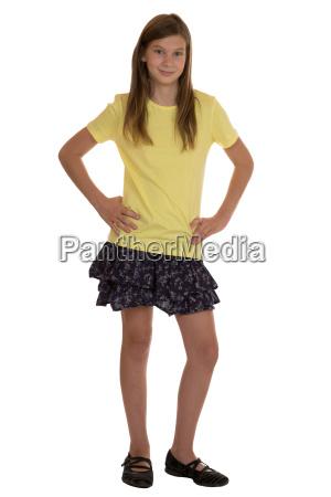 girl portrait isolated