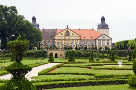 baroque garden architecture building sight baroque