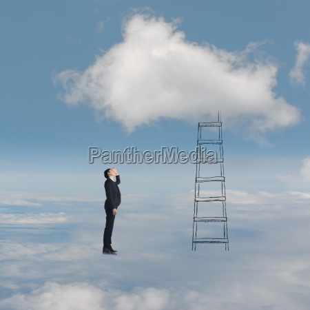konzept der zugriff auf wolken