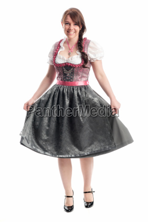sweet bayrin in dirndl