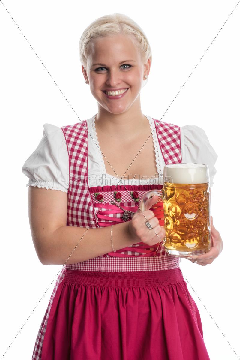 blonde, bayrin, mit, mass, bier - 12210434