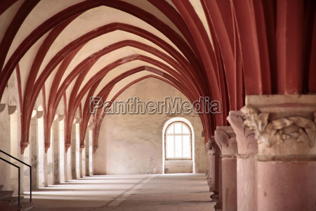vault in the cistercian monastery