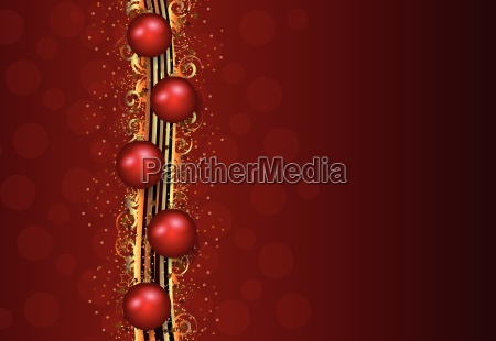 red christmas illustration