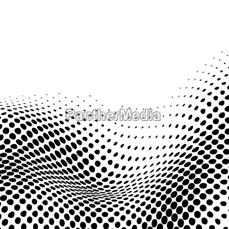 abstract dynamic black dotted background pattern