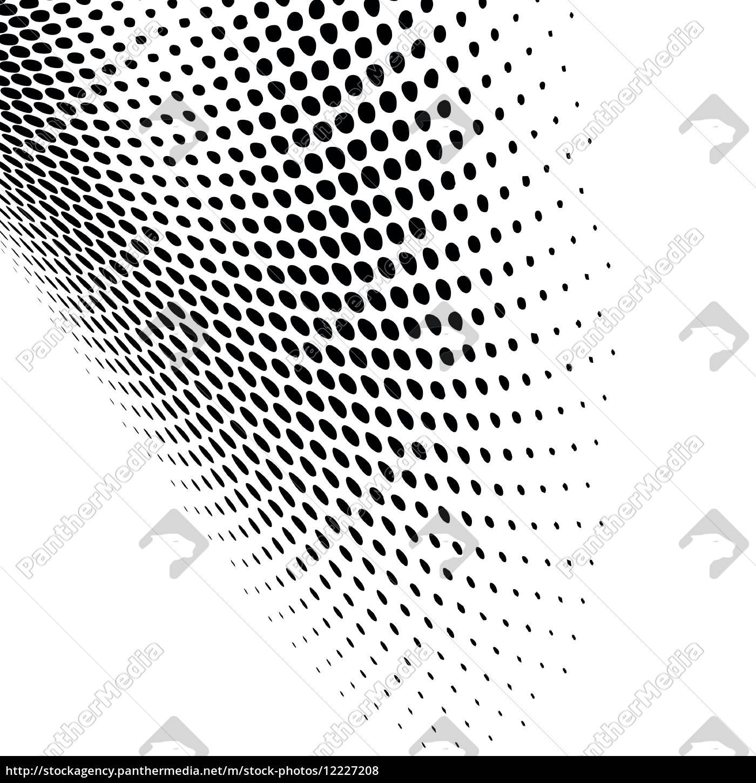 Poster Bunte Punkte Nahtlose Muster Pixers