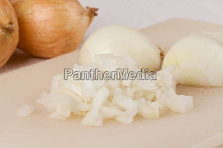 white and red onions peeled and