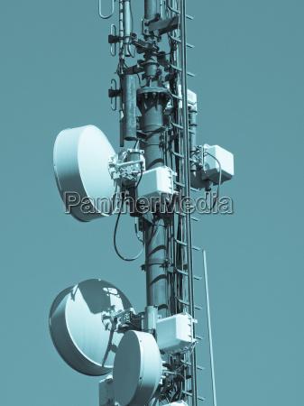 elektronik energie strom elektrizitaet kommunikation antenne