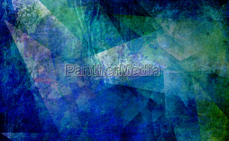 painting abstract ancient polygonal