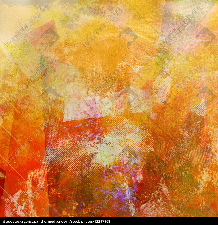 malerei, textur, sommerfarbe - 12297968