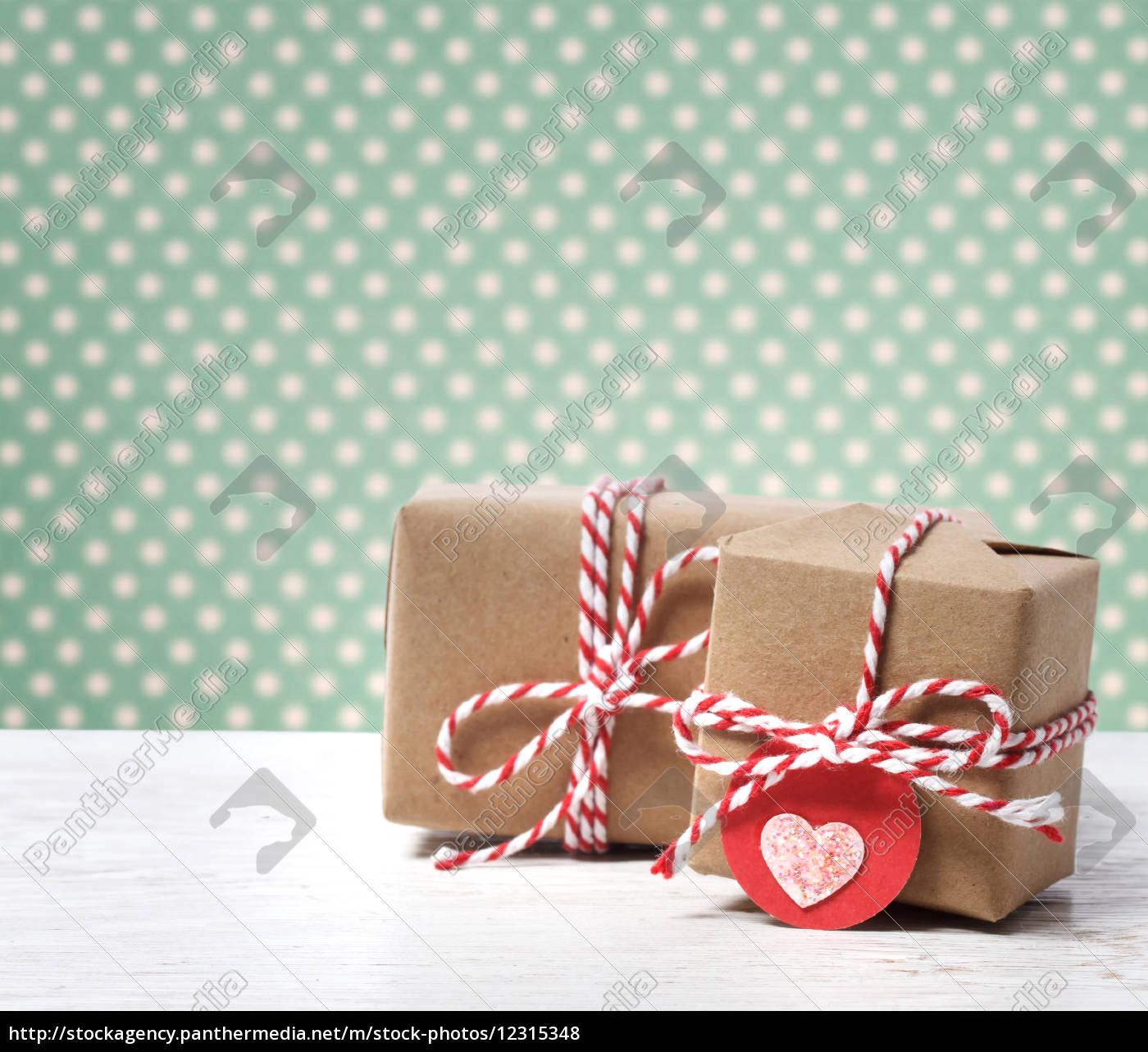 handgemachte geschenk-boxen - Lizenzfreies Foto - #12315348 ...