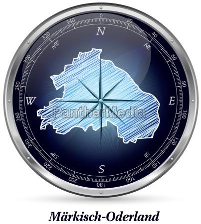 maerkisch oderland mit grenzen