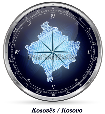 kosovo mit grenzen