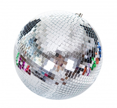 close up of a disco ball
