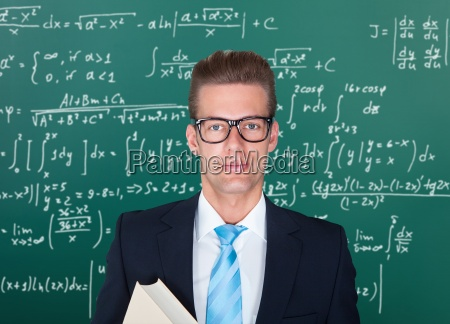 portrait of male professor