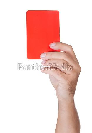 es werden fussball schiedsrichter yellow card