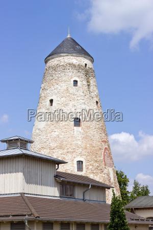 salt tower salzelmen germany tower architecture
