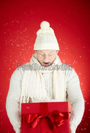 winter in giftbox