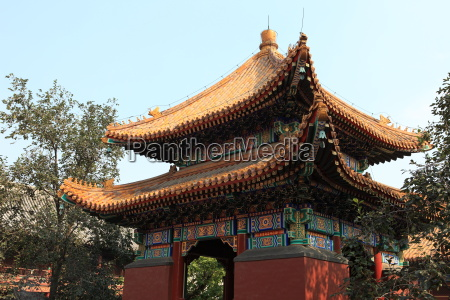 the lama temple in beijing china