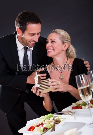 romantik zu zweit im restaurant