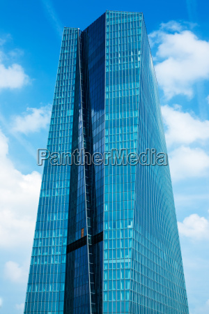 banca centrale europea edificio principale a