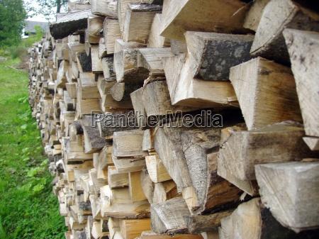 holz brennholz biomasse energie energiewirtschaft