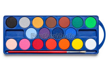 freisteller farbe abgeschieden malen boxen schachteln
