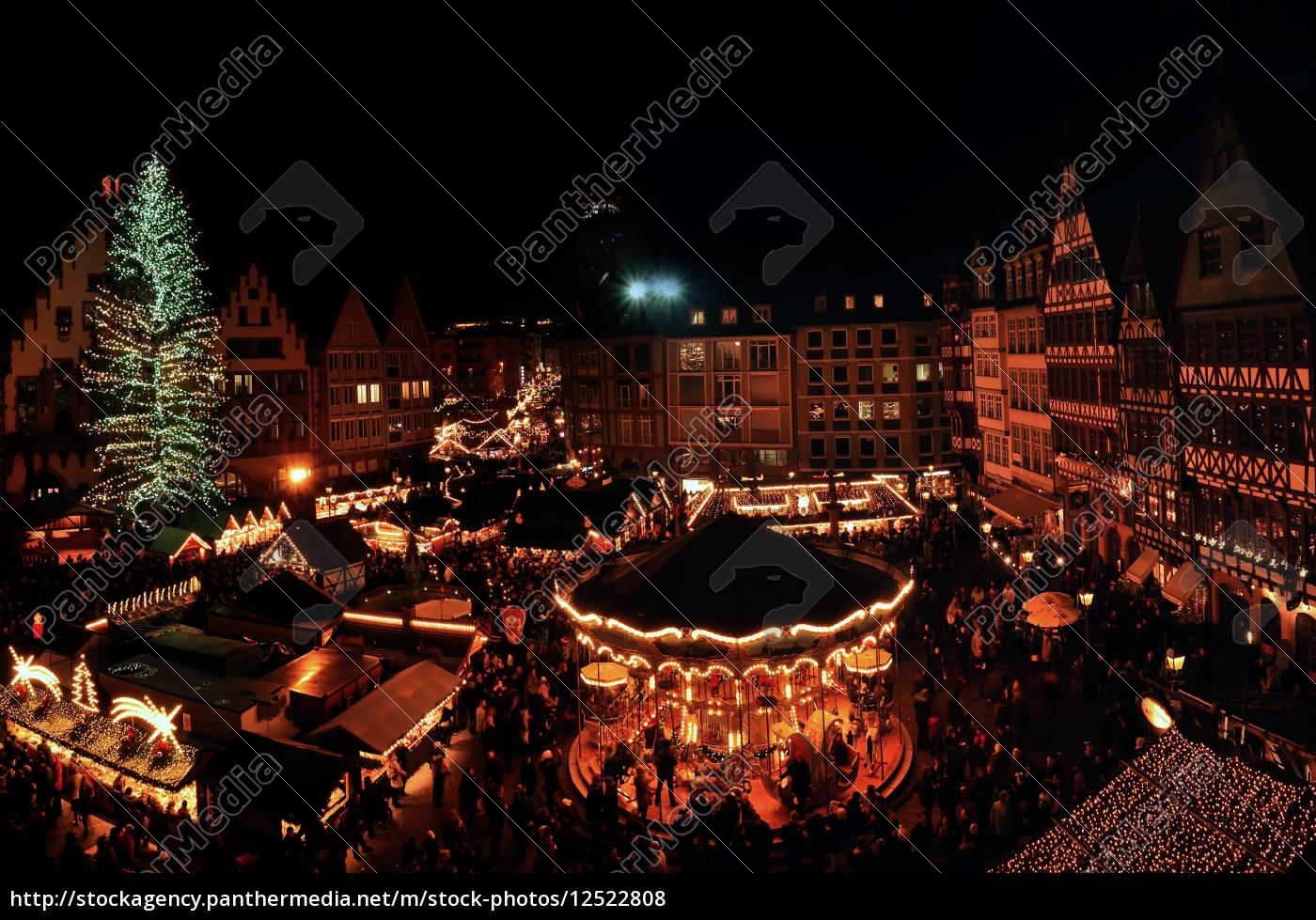 Frankfurter Weihnachtsmarkt.Lizenzfreies Foto 12522808 Frankfurter Weihnachtsmarkt