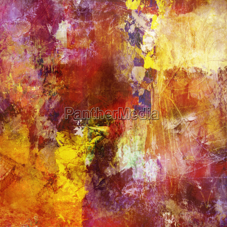 painting abstract canvas
